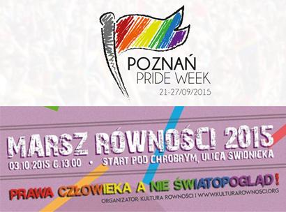 Grafiki promujące marsze w Poznaniu i Wrocławiu