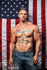 Hunks for Hillary