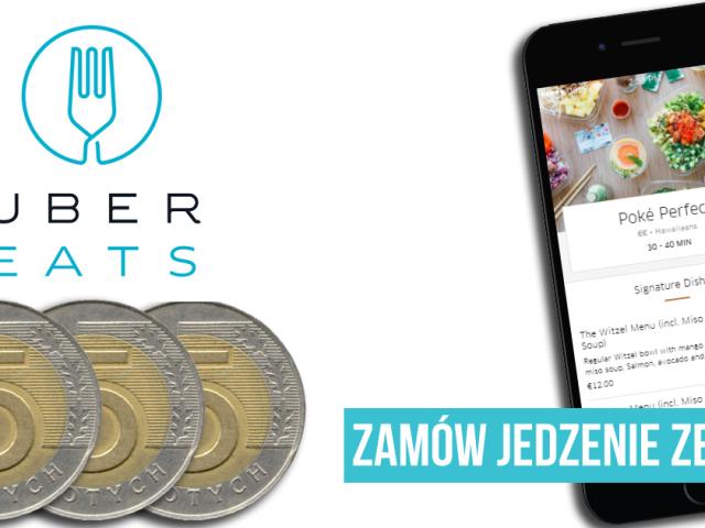 Zamów jedzenie ze zniżką 15 PLN | WARSZAWA