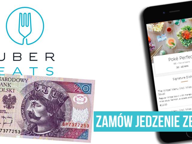 Zamów jedzenie ze zniżką 20 PLN   WARSZAWA