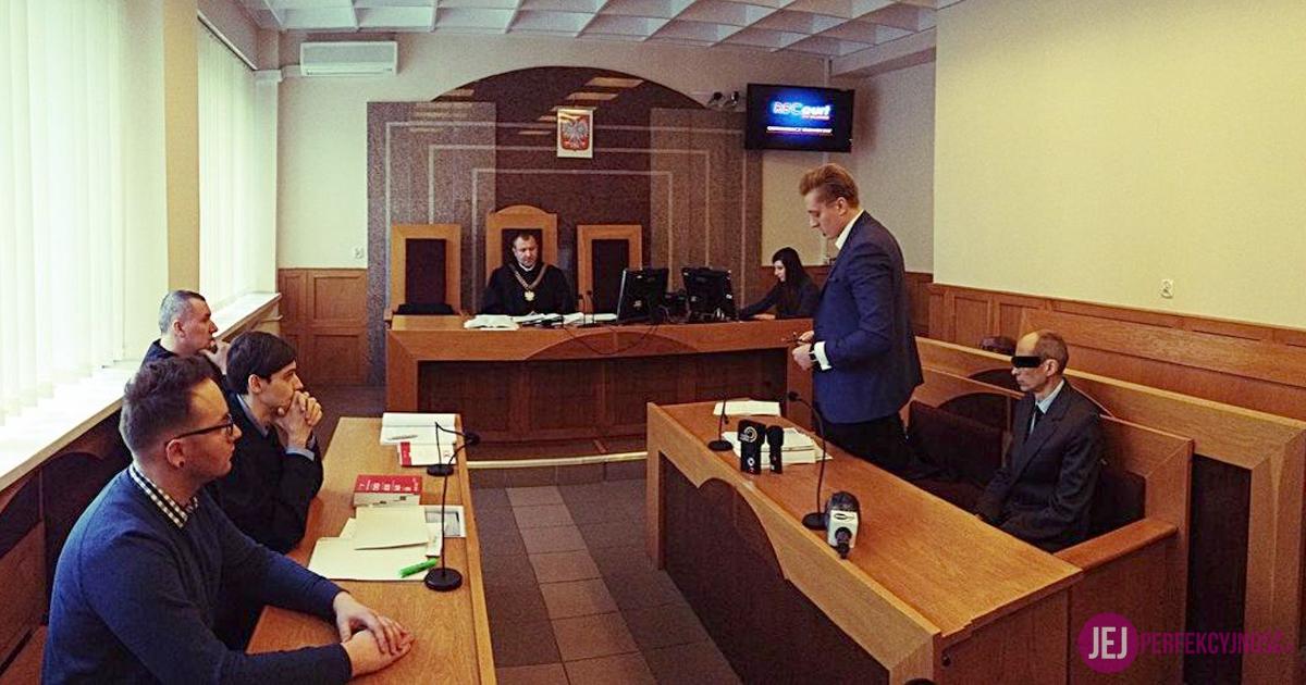 Rozprawa przed sądem I instancji