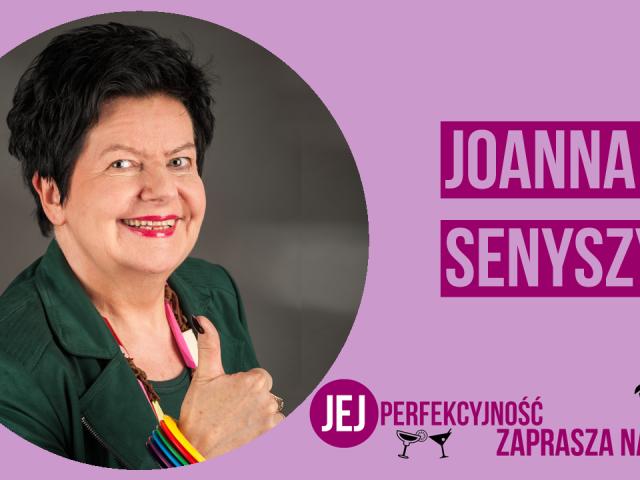 """Prof. Joanna Senyszyn będzie gością kolejnego odcinka """"Jej Perfekcyjność zaprasza na drinka"""""""