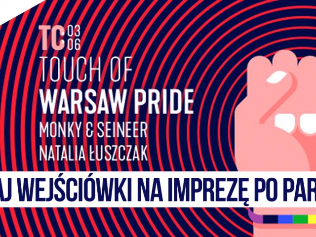 """Trzy dwuosobowe wejściówki na """"Touch of Warsaw Pride"""" czekają!   KONKURS"""