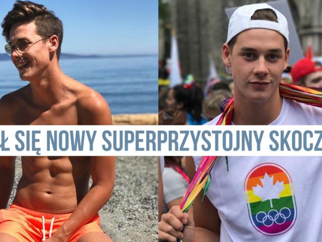 Tom Daley nie jest już jedyny – pojawił się nowy superprzystojny skoczek-gej