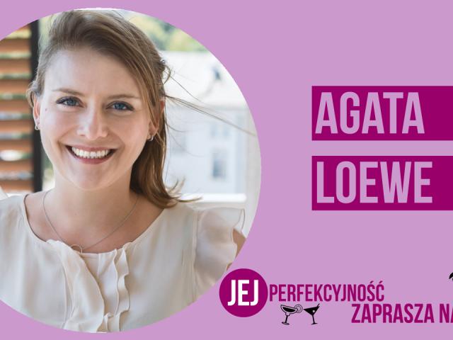 """Agata Loewe będzie gością kolejnego odcinka """"Jej Perfekcyjność zaprasza na drinka"""""""