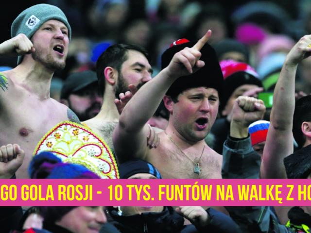 Za każdego gola Rosji, Paddy Power przekaże 10,000 funtów na walkę z homofobią