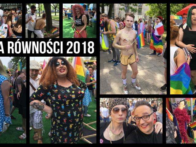 Parada Równości 2018 (no i Miasteczko Równości)   FOTO i VIDEO