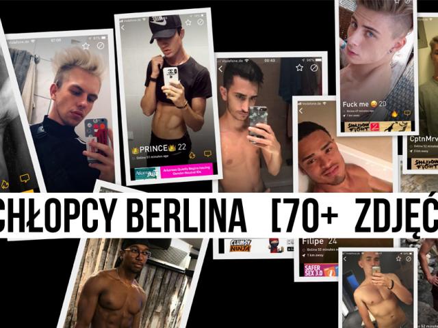 Chłopcy Berlina | [70+ (nielegalnych) ZDJĘĆ]