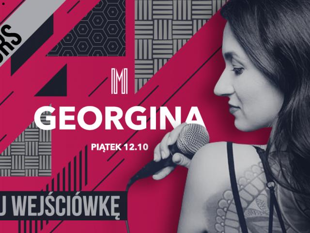 Wygraj podwójne zaproszenia na live act Georginy Tarasiuk w ten piątek!   KONKURS