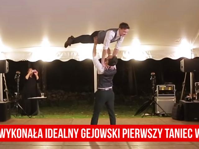 Ta para wykonała idealny gejowski pierwszy taniec weselny | VIDEO